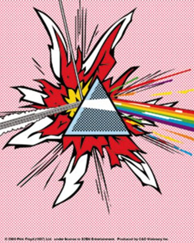 Licenses Products Pink Floyd Dark Side Of The Moon Chtens Sticker