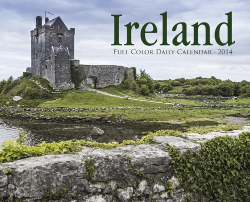Ireland Full Color Daily Calendar 2014