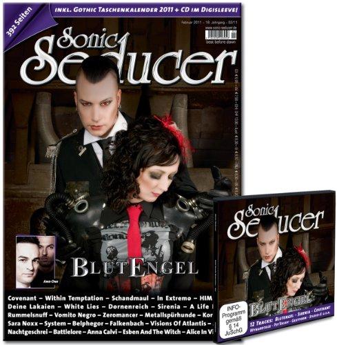 Sonic Seducer 02-11 inkl. Gothic Taschenkalender 2011 mit insgesamt 392 Seiten + Cold Hands CD im Digisleeve; Bands: Blutengel, Schandmaul, Covenant uvm.
