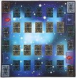 おもちゃの神様 遊戯王 ARC-V カードプレイマット スタンダードタイプ(対戦用) ペンデュラムゾーンあり! 60×60cmサイズ 厚さ 2mm の特大サイズ! これ1枚で二つのデュエルフィールドを用意! プレイマットについにペンデュラムゾーンを追加! アニメを再現し、決めろペンデュラム召喚!
