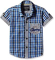 Cherokee Boys' Shirt (267982331_Blue_5 - 6 years)
