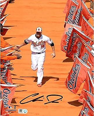 """Chris Davis Baltimore Orioles Autographed 8"""" x 10"""" Orange Carpet Photograph - Fanatics Authentic Certified"""