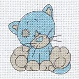 Anchor My Blue Nose Friends Kittiwink Counted Cross Stitch Kit