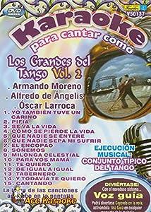 Karaoke Para Cantar Grandes del Tango Vol. 2 V50137 DVD