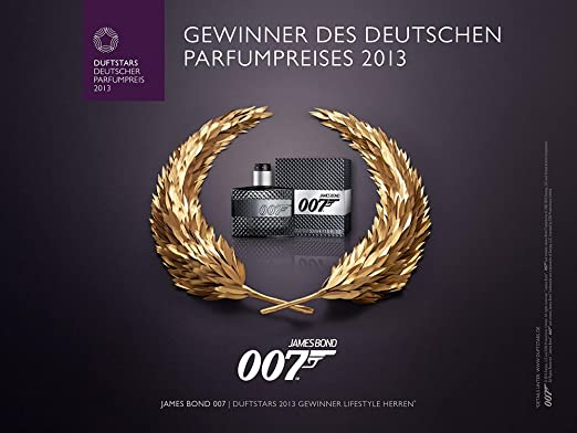 Gift for Dad - James Bond Eau De Toilette Spray for Men