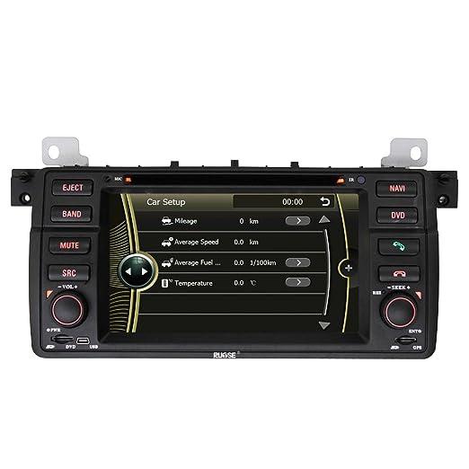Rupse - Autoradio DVD pour BMW 3 série E46 DVD GPS système de navigation avec écran tactile