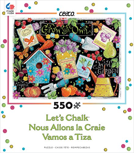 Ceaco Let's Chalk - Grow Your Own Puzzle