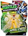 Teenage Mutant Ninja Turtles Dimension X April Action Figure from Playmates - Toys