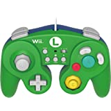 HORI Battle Pad for Wii U (Luigi Version) with Turbo - Nintendo Wii U (Color: Green)