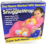 Kids Snuggle wrap blanket with sleeves - RED