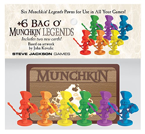 Plus 6 Bag o Munchkin Legends