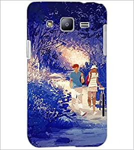 PrintDhaba Couple D-4252 Back Case Cover for SAMSUNG GALAXY J2 (Multi-Coloured)