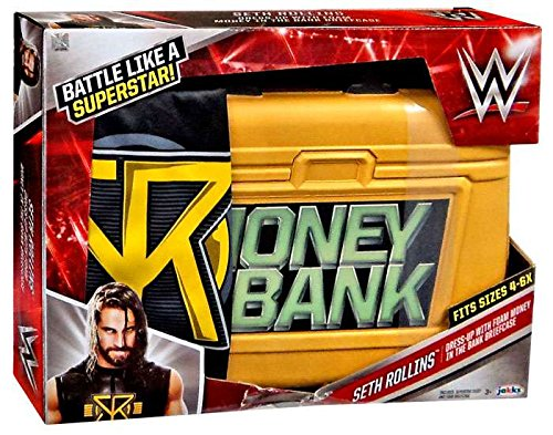 Seth Rollins Dress Up Costume with Money In The Bank Briefcase