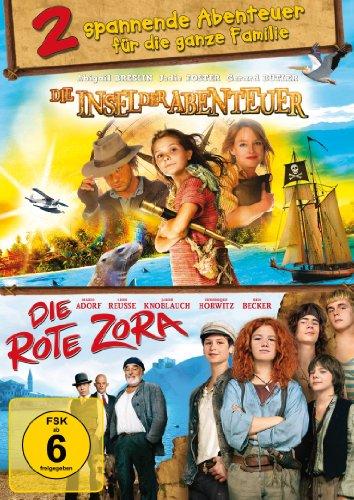 Die Insel der Abenteuer / Die Rote Zora - Doppelpack (2 DVDs) - 2 spannende Abenteuer für die ganze Familie