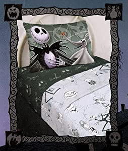 Nightmare Before Christmas Sheet Set - Queen