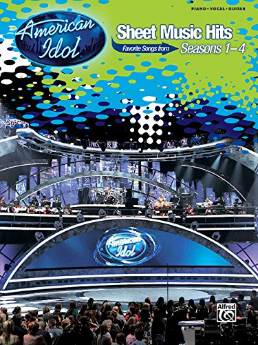 American Idol Sheet Music Hits: Favorite Songs from Seasons 1-4 (Piano/Vocal/Chords)