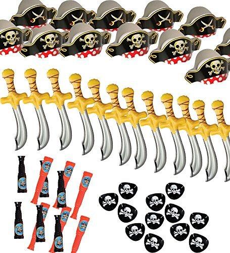 set-de-fiesta-parches-de-12-sombreros-de-pirata-pirata-espadas-telescopios-funny-sombreros-de-fiesta