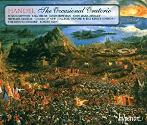 Handel: The Occasional Oratorio /Gritton * Milne * Bowman * Ainsley * George * The King's Consort * King