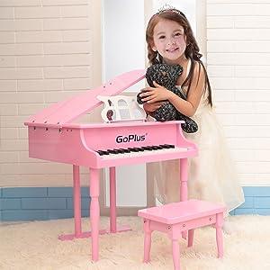 Goplus 30-key Pink Toy Grand Baby Piano