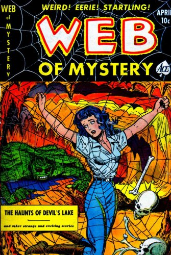 Web of Mystery - 8 cover