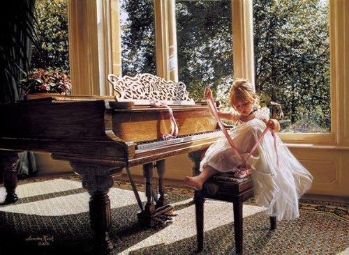 1000 Piece - Anatolian Puzzle -  Piano Ballerina Puzzle