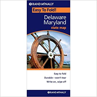 Rand McNally Delaware - Maryland Easy to Fold (Laminated) (EasyFinder) (Easyfinder S)