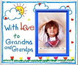 With Love to Grandma & Grandpa (crayola) Picture Frame Gift