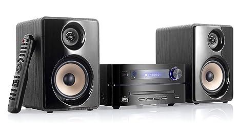 Auvisio MHX-560.hdmi Chaine stéréo micro HiFi Bluetooth/DVD/CD/USB/FM
