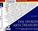 The Spoken Arts Treasury: 100 Modern American Poets Reading Their Poems: Volume One