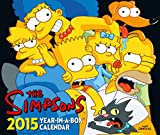 Official the Simpsons Desk Block Calendar 2015