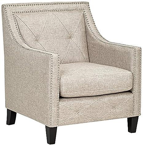 Belford Heirloom Gray Upholstered Armchair