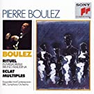 Pierre Boulez Conducts His Own Works