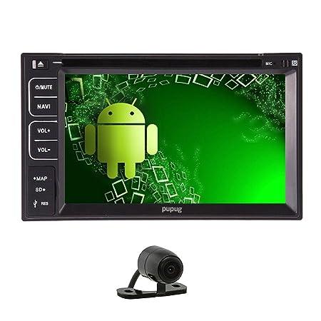 VCD HD Pantalla capacitiva Android 4.2 radio cd del coche DVD GPS de Coche de estšŠreo audio para Universal 2 DIN šŠcran LCD de Radio multimšŠdia WIFI 3G coche del Sistema de Bluetooth FM / AM Android Cubierta Blu