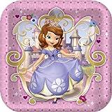 Disney Junior Sofia the First Square Dinner Plates (8)
