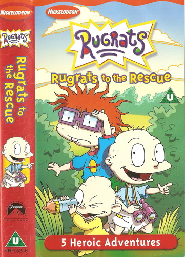 Rugrats vhs ebay nick movie