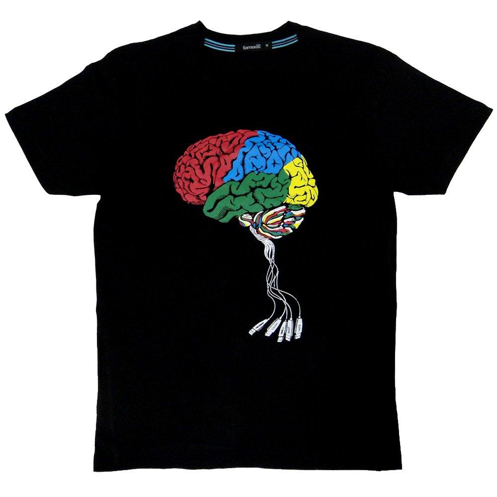 パロディTシャツ 電脳 USB Brain