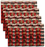 BOX OF 100 X CR 2032 LITHIUM COIN BATTERIES.TOP BRAND MAXELL