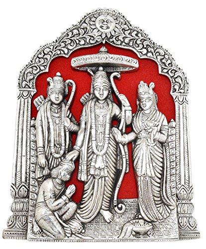 Haridwar Astro White Metal Ram Darbar 3-4 inch