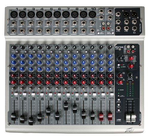 Peavey Pv14 Usb 14 Channel Mixing Console