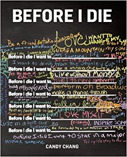 before i die, book