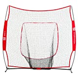Rukket The Original Sock It! Baseball & Softball 7 x 7 Practice Net with bow frame (LIFETIME WARRANTY & US Based Customer Service)
