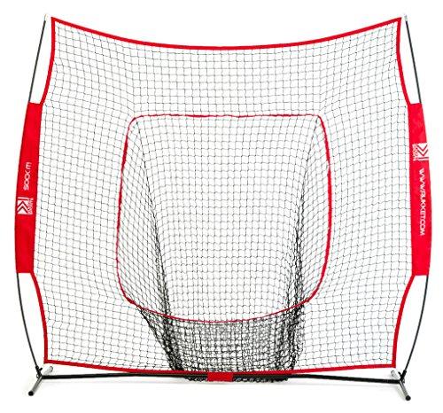 Rukket The Original Sock It! Baseball & Softball 7 x 7 Practice Net