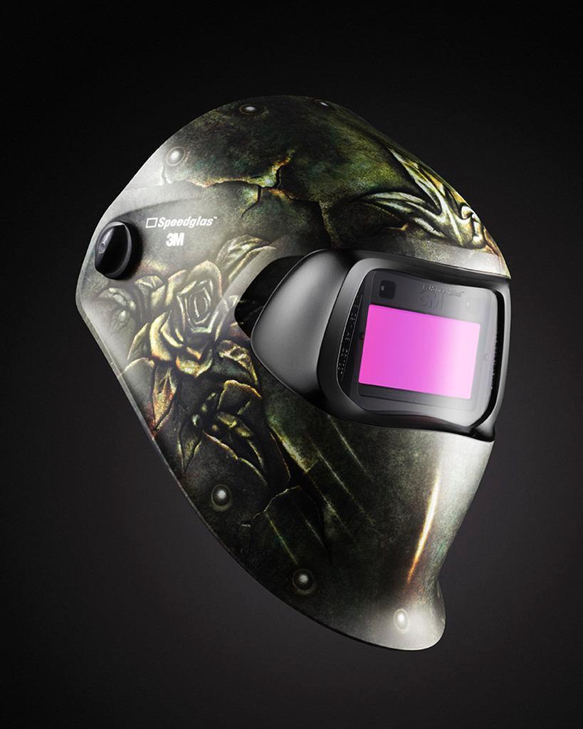 3M(TM) Speedglas(TM) Steel Rose Welding Helmet 100 with Auto-Darkening