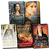 Philippa Gregory Cousins War Series Collection Philippa Gregory 5 Books Set (The White Princess, White Queen, Red Queen, Lady of the Rivers, Kingmaker's Daughter)