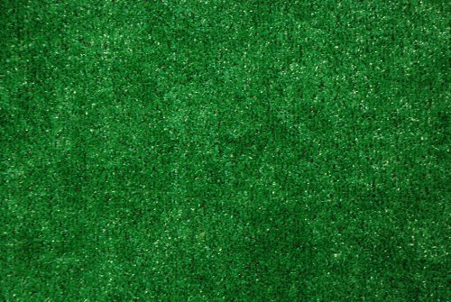Indoor Outdoor Green Artificial Grass Turf Area Rug 6 X8