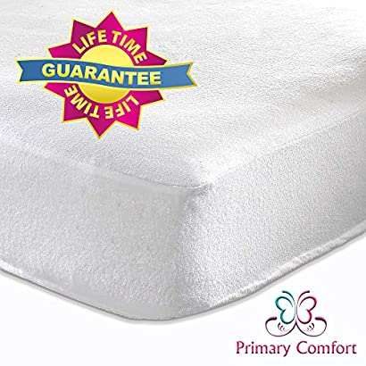 Primary Comfort Crib Mattress Pad   All Natural, Waterproof   Soft