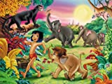 Children's A1 Size Glossy Poster 33 x 24 inch Cartoon The Jungle Book