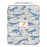 Pencil Case Holder Slot -Holds 202 Colored Pencils or 136 Gel Pens with Zipper Closure - Large Capacity Polyester Pen Organizer for Watercolor Pens or Markers - Perfect Gift for Artist Shark (Color: shark202)
