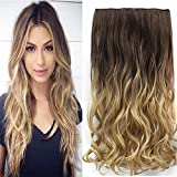 Neverland 24 Zoll Voll Leiter Clip in Hair Extensions Ombre