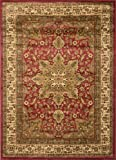 Home Dynamix Royalty 8083-200 Red 5-Feet 2-Inch by 7-Feet 2-Inch Traditional Area Rug
